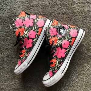 Converse *Andy Warhol* Flowers Print High Tops